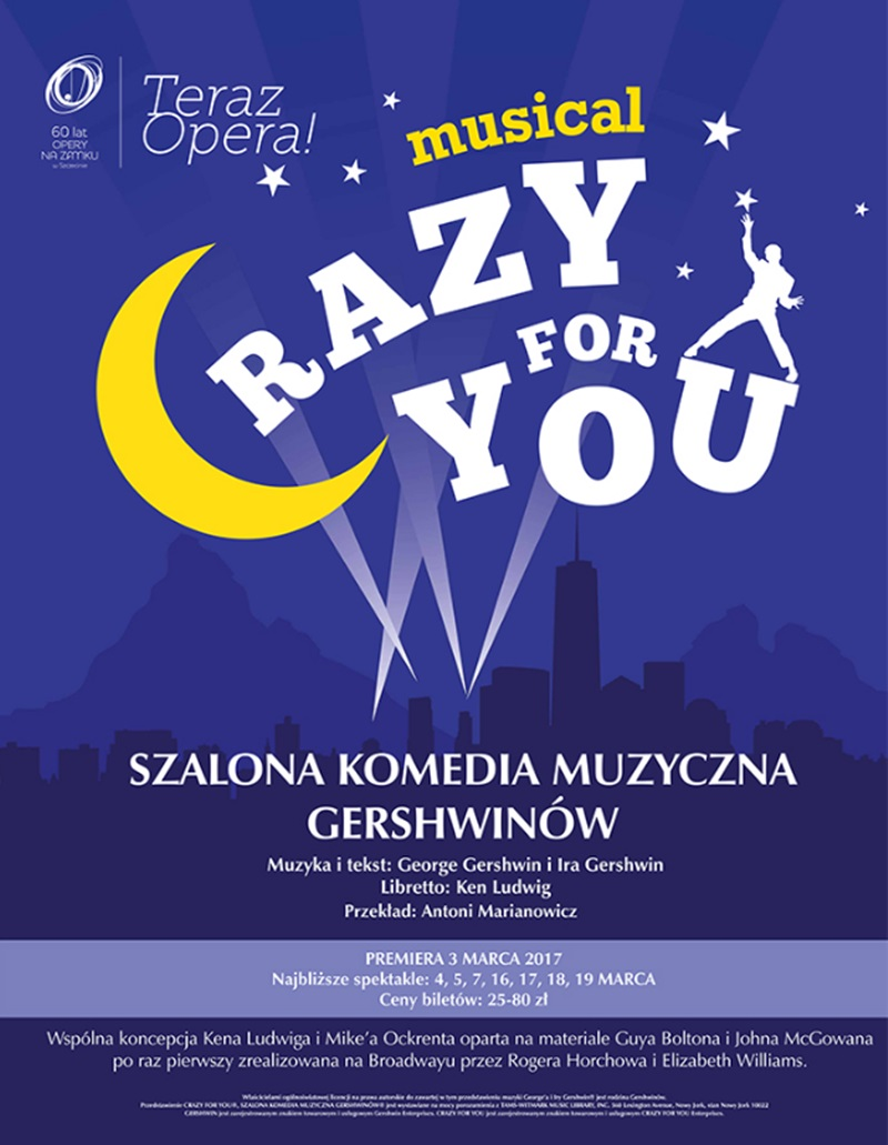 "Musical ""Crazy for You"""