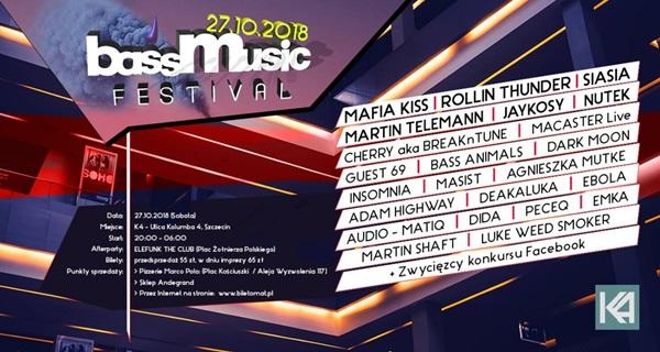 dfa1851849 Bass Music Festival 2018 - Echo Szczecina