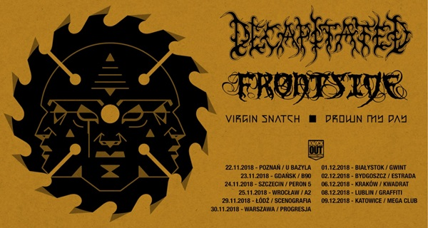 KO Tour - Decapitated, Frontside