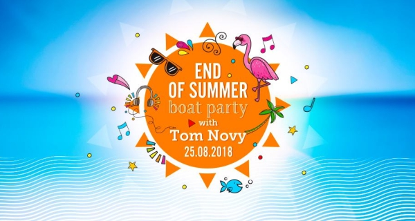End of Summer - Boat Party