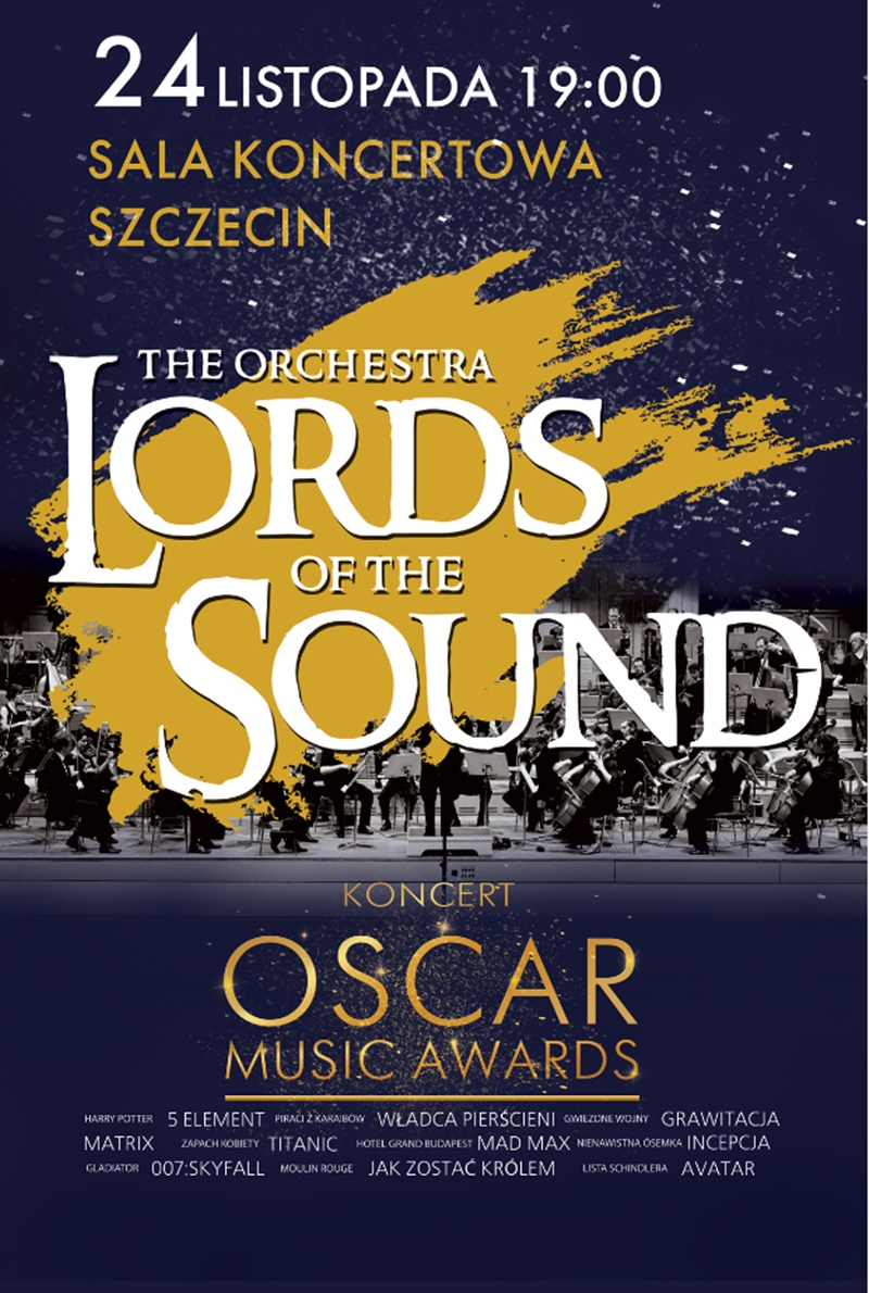 "Oscar Music Awards: ""Lords of the Sound"""