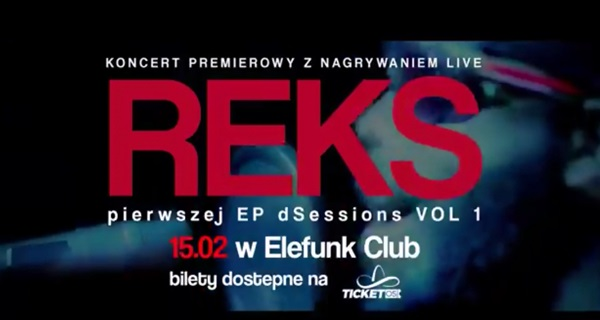 REKS X dSessions LIVE EP